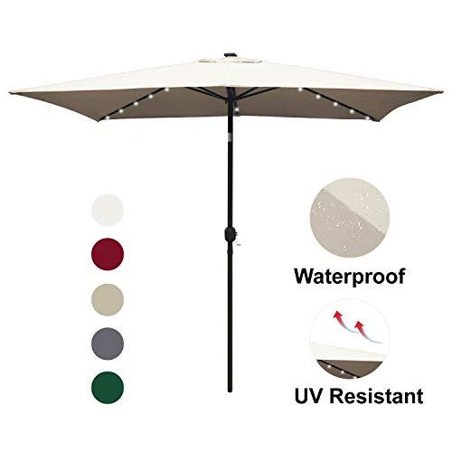 ABCCANOPY Rectangular Patio Umbrella