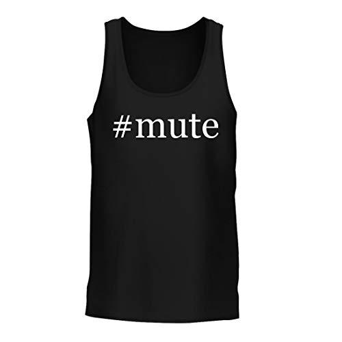 #Mute - A Nice Hashtag Men's Tank Top, Black, ()