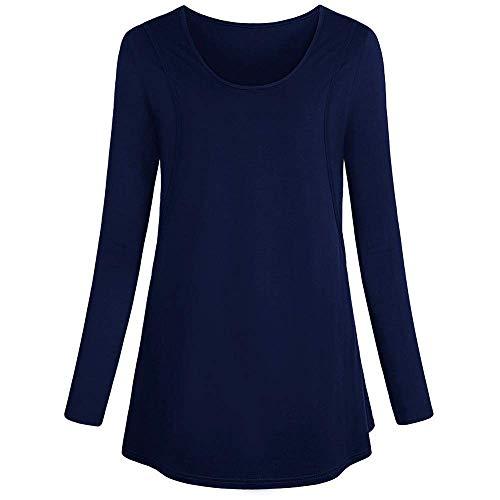 Vintage Camisa Larga Damas Camisas De 2 Camiseta Manga O En Grün Maternidad La Enfermería Para Con Cuello r4pYrwgSq