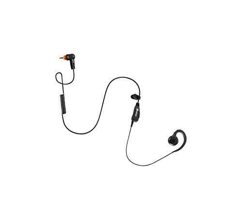 (BOMMEOW BSE12-M12 C-Shape Swivel Style Earpiece Headset for Motorola Radio SL300 SL500 SL7550 SL7580)