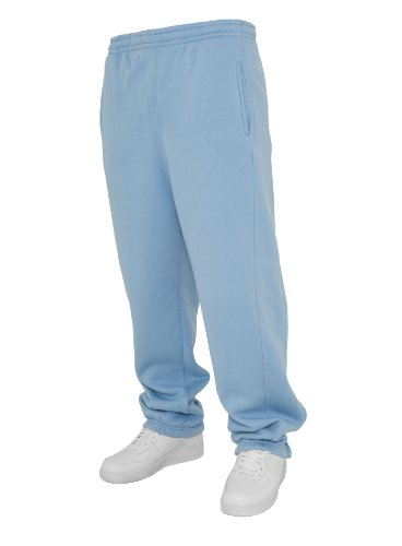 Urban Classics Sweatpants - Pantalones deportivos Azul - Celeste
