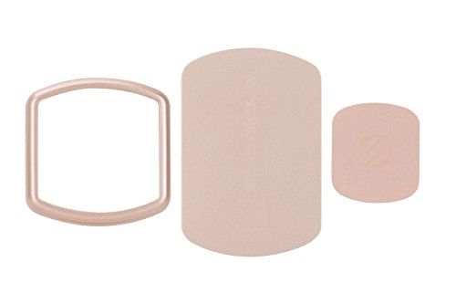 SCOSCHE MPKRGI MagicMount Pro Rose Gold Trim Ring and Replacement Plates for MagicMount - Magic Plate
