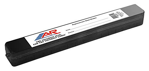 (A&R Sports Replacement Steel Blade Case - Black (Renewed))