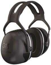 3M 2496327 Peltor X-Series Over The Head Earmuff with Headband X5A & 3727444; Black