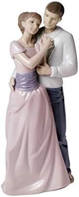 NAO Dreams of Love. Porcelain Bride and Groom Figure.