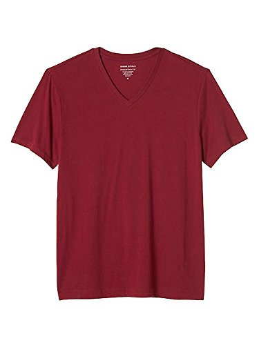 banana-republic-premium-wash-vee-neck-tee-large-japanese-maple
