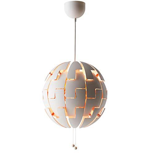 (HYYK Modern Chandelier, Ball Lamp Creative Deformation Stay Adjustable Pendant Lights Telescopic Bedroom Dining Room Ceiling Lamp E27 10-15 ㎡)