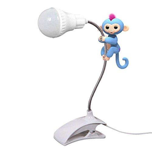 Price comparison product image Monkey Playground Jungle Gym , Vanvler Baby Monkey Toy Climbing Entertaint Platform -LED Night Light Pen Holder White