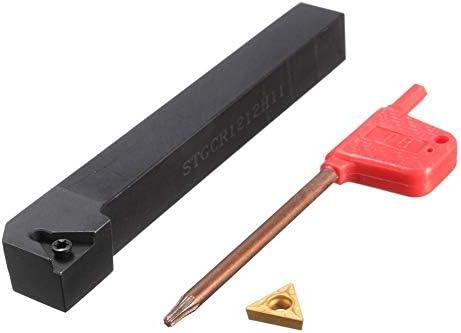 STGCR1212H11 12x100mm Lathe Bohrstange Turing-Werkzeughalter + TCMT1102 Blade-Insert + Wrench Drehbank ZubehöR Schaftdrehmaschine