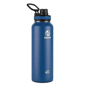 Amazon.com: Takeya Originals - Botella de agua de acero ...