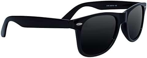 Eye Love Polarized Sunglasses for Men & Women with 100% UV Blocking, Glare-Free, Polarized Lenses - Available in 3 Colors | Black | Brown | Matte Black |