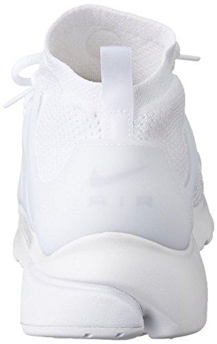 Nike Air Presto Flyknit Ultra - Zapatillas de deporte Hombre Blanco (White / White-White-Ttl Crimson)