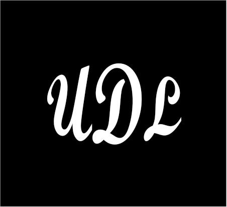 3-white-monogram-3-letters-udl-initials-bold-font-script-style-vinyl-decal-great-size-for-cups-or-mu