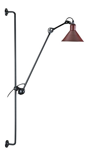 Amazon.com: 214 Lampe Gras Wall Lamp - Black/Red: BERNARD-ALBIN GRAS ...