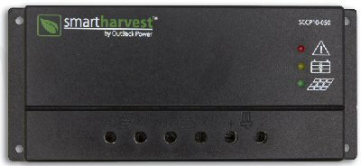 Outback Smart Harvest Power 10A PWM Solar Charge Controller SCCP10-050