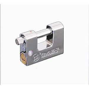 31hJ2AL6rHL. SS300 Lucchetto in metallo classe C, serratura di sicurezza antifurto impermeabile con 3 chiavi adatta per l'armadio della palestra della bici della porta della camera da letto,9240