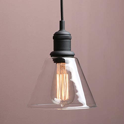 1-Light Vintage Edison Hanging Pendant Light
