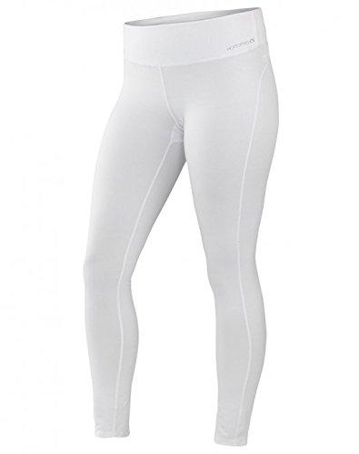 Terramar Women's Cloudnine Performance Tights, White, Medium (10-12)