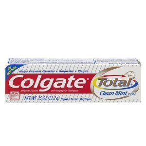 Colgate Total Clean Mint Toothpaste-0.75 oz, Travel Trial size - CASE PACK of 24 tubes