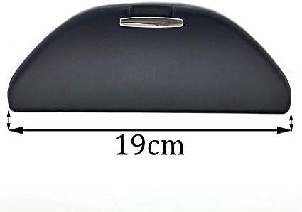 Estuche de Gafas de Sol Caja de Gafas de Sol Auto Techo Montar Porta Gafas Almacenamiento Ajuste para Polo 9N3 Golf 4 MK4 Jetta Bora Touran GTI (Negro Estuches de Gafas): Amazon.es: