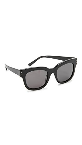 Elizabeth and James Women's Allen Sunglasses, Black/Smoke Mono, One - Elizabeth Sunglasses