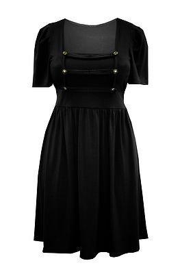 Style a black dress 22 24