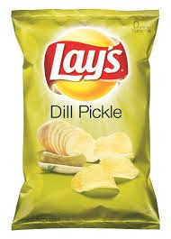 Lay's Dill Pickle Potato Chips 7.75oz Bag (Pack of 3)