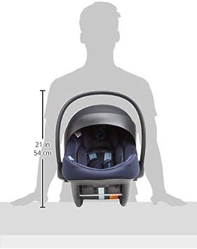 CYBEX Gold Si/ège Auto Coque pour B/éb/é Aton M i-Size R/éducteur Nouveau-N/é Inclus Indigo Blue Pour les Enfants de 45 cm /à 87 cm 13 kg max.