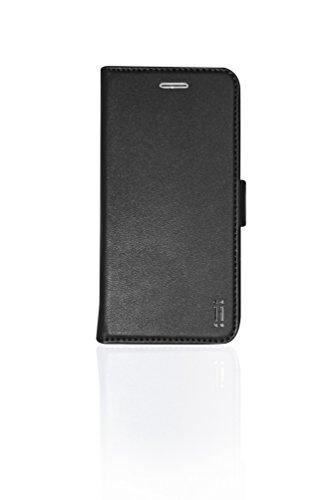 Aiino Livret Portefeuille Eco b-case Housse en cuir de protection pour Apple iPhone 6/6S–Noir