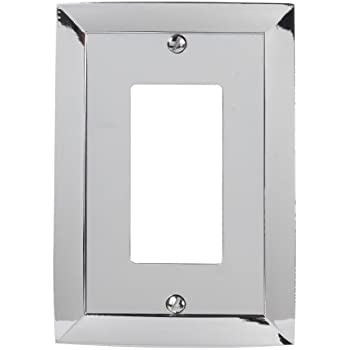 amerelle 61rch studio style 1 rockergfci wall plate chrome