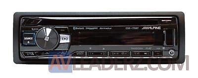 Alpine CDE-175BT, Single-DIN CD Car Stereo w/Bluetooth, USB & Auxiliary Input (Replaces CDE-163BT) (Alpine Iphone Car Stereo)