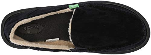 Us Cord 06 M Flat Women's Black Chill Donna Loafer Sanuk ztxTwq4gt
