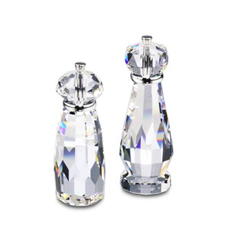 (Swarovski Crystal Moments Salt & Pepper Mill Miniature Figurines)