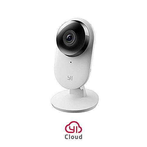 YI Home Camera 2, 1080p Full HD Wireless IP Security Surveillance System with Activity Zone, Human Detection for Indoor, Store, Baby, Pet Monitor with iOS, Android App – Cloud Service Available