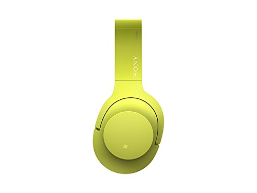Sony H.ear on Wireless Noise Cancelling Headphone, Lime Yellow (MDR100ABN/Y)