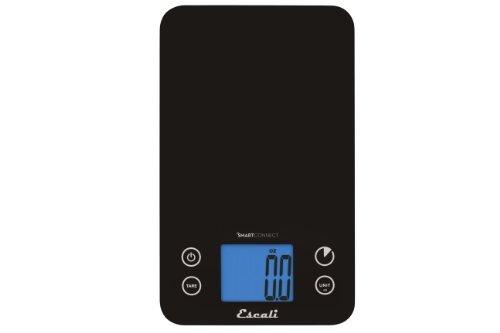 Escali Smart Connect Bluetooth Kitchen Scale, 11-Pound by Escali