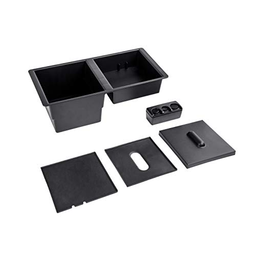 2015 Gmc Sierra Parts - AORRO Center Console Insert Organizer Tray for 14-19 Silverado, Tahoe, Suburban, Sierra, Yukon, Escalate - Replaces GM Factory OEM Part 22817343