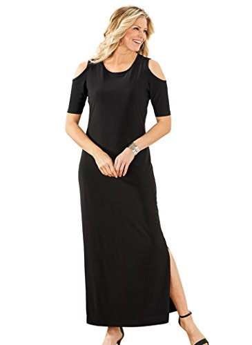 Maxi Shoulder Shoulder Cold Dress AmeriMark Cold Black Black Dress Dress Maxi AmeriMark Black Shoulder AmeriMark Cold Maxi AOw5FOpq