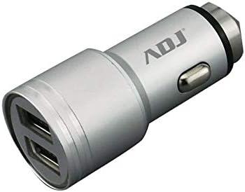 adj Cargador Universal para Coche Dual USB para Smartphone y ...