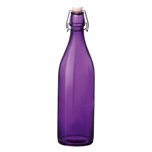 - Bormioli Rocco Giara Bottle Set of 6, Violet