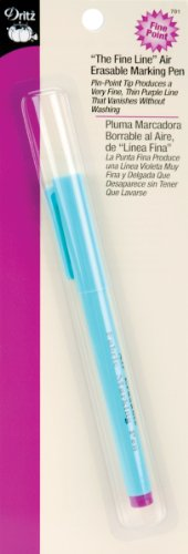 Air Erasable Marking Pen for Sewing Product ()