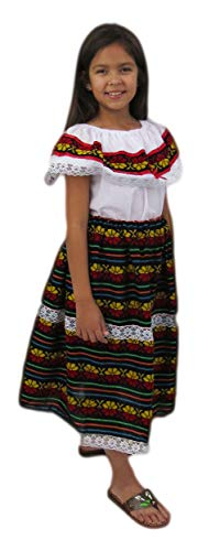 Mexico Costumes For Girls - Leos Imports Mexican Dress Cambaya for