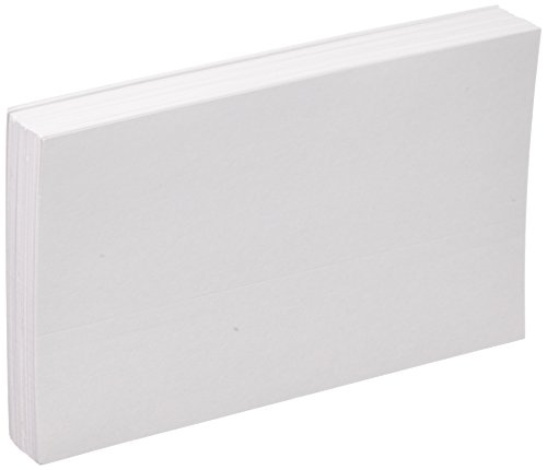 Oxford Blank Index Cards, 5