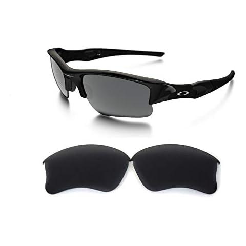 c4eeab19d2199 Galaxy Replacement lenses For Oakley Flak Jacket XLJ Polarized Black 100%  UVAB