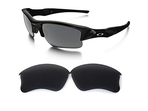 Galaxy Replacement lenses For Oakley Flak Jacket XLJ Polarized Black 100% UVAB