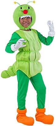 Car&Gus Disfraz de Gusano Verde para niños: Amazon.es: Juguetes y ...