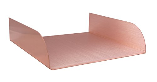 Lombardi 12'' Spa-to-Pool & Fountain Spillway Water Feature - Copper by Majestic Water Spouts