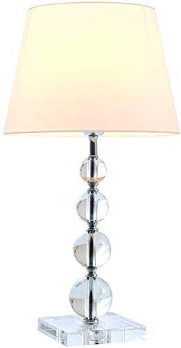Lámpara de escritorio decorativa de cromo Lámpara de mesa de ...