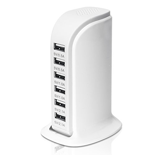 Adapter 6 Port Charging Station Charge