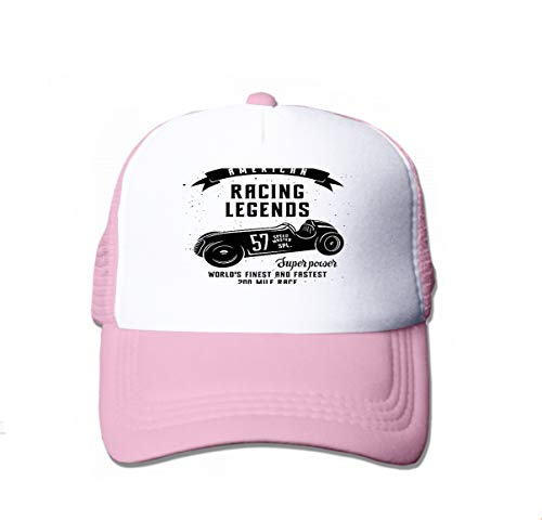 Classic Cotton Dad Hat Adjustable Plain Cap Custom Denim Baseball Cap for Adult Racing car Speed Racer Graphic American Race Vintage Poster Pink